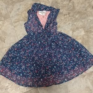 4t floral lace puffy dress